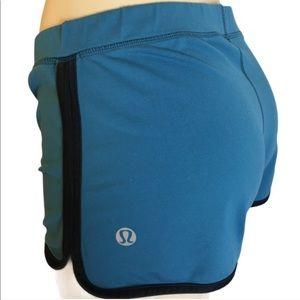 Lululemon Shorts blue track